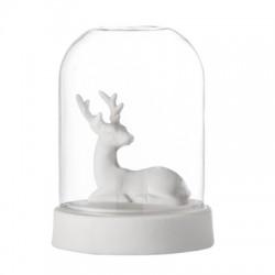 Décoration lumineuse, cerf blanc